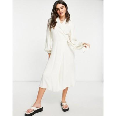 ゴースト Ghost レディース ワンピース ワンピース・ドレス Tansy long sleeved dress In ivory アイボリー