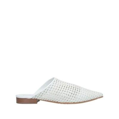 LA CORTE DELLA PELLE by FRANCO BALLIN レディース モカシン 靴 ホワイト