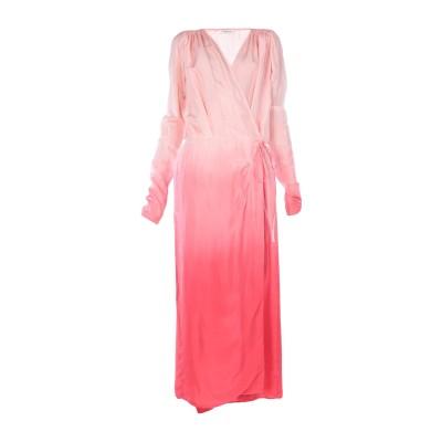 アティコ THE ATTICO ロングワンピース&ドレス ピンク 38 シルク 100% ロングワンピース&ドレス