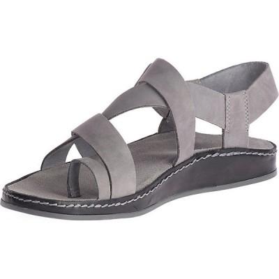 チャコ サンダル レディース シューズ Chaco Women's Wayfarer Loop Sandal Grey