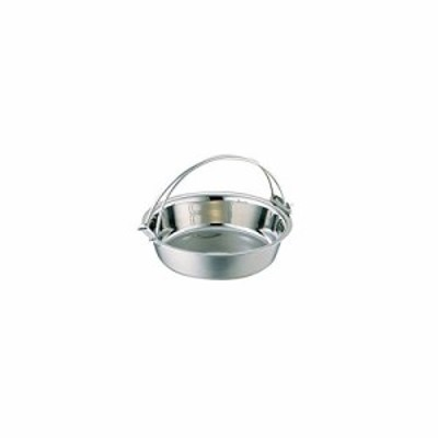 電磁ちり鍋(つる付・蓋無)29cm(9寸) 3301-0291 5280an(中古品)