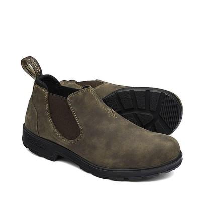 ブランドストーン サイドゴアブーツ メンズ レディース ワークブーツ ラスティックBRN Blundstone Side Gore Boots LOW CUT BS2036