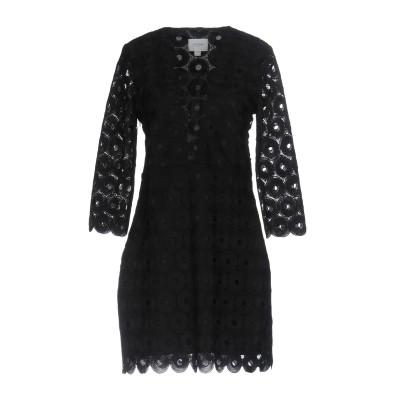 JOVONNA ミニワンピース&ドレス ブラック 10 ポリエステル 100% ミニワンピース&ドレス