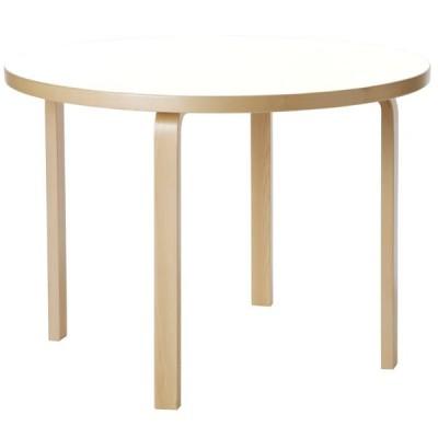 Artek アルテック 家具 90Aテーブル ホワイト ラミネート 28301782 【大型家具】 *納期は受注後お知らせ致します。 *ご注文後のキャンセル不可