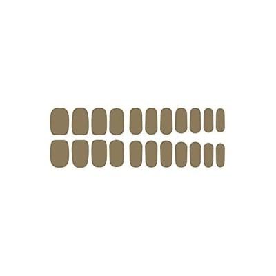 ZINIPIN KB052 22枚入り ネイルシール ネイルステッカー 貼るだけでOK セルフでサロン並みの仕上がり(マッドミッドナイト)
