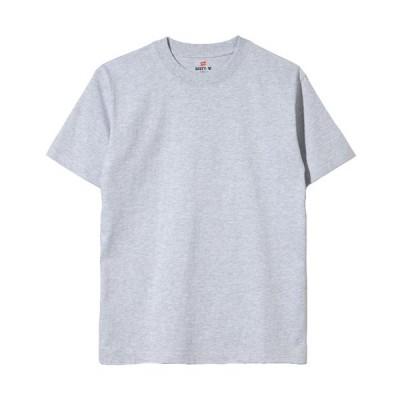 ヘインズ(Hanes) BEEFY Tシャツ 1P ヘザーグレー HB-H5180 060 メンズ 半袖 無地 カジュアル