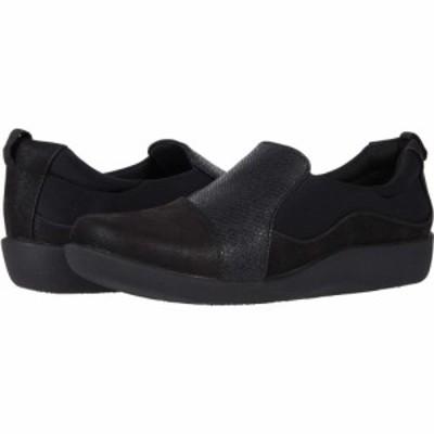 クラークス Clarks レディース ローファー・オックスフォード シューズ・靴 Sillian Paz Black Snake Combination Synthetic