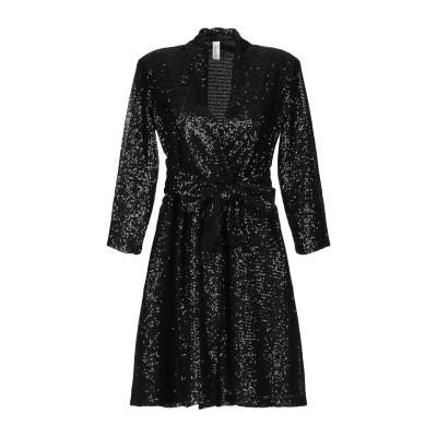 スーベニア SOUVENIR ミニワンピース&ドレス ブラック M ポリエステル 100% ミニワンピース&ドレス