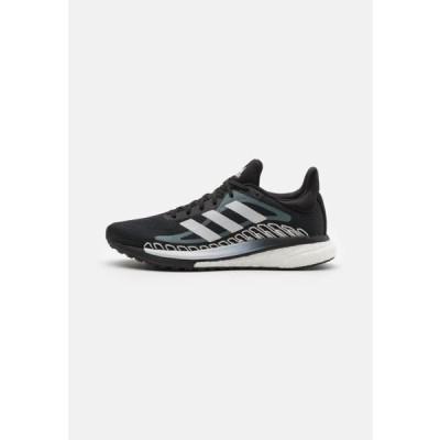 アディダス レディース スポーツ用品 SOLAR GLIDE - Stabilty running shoes - core black