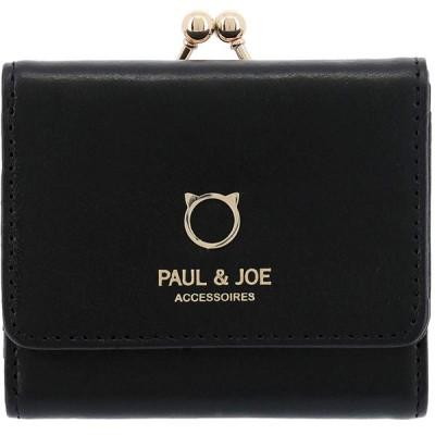 ポールアンドジョーアクセソワ ポール&ジョー アクセソワ 三つ折り財布 ミニ財布 レディース ブラック