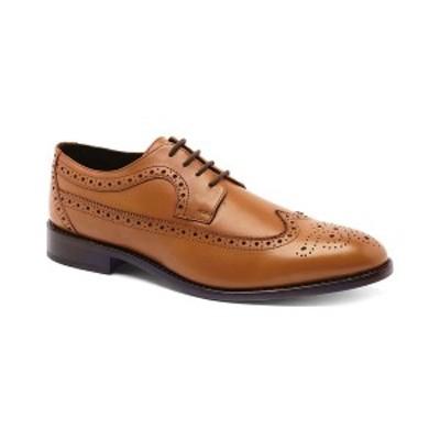 アンソニー ヴィア メンズ ドレスシューズ シューズ Men's Regan Wingtip Goodyear Oxford Dress Shoes Brown