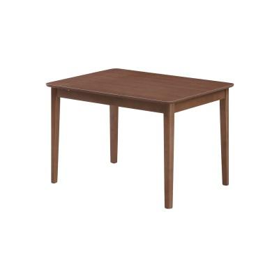 ウォルナット材のエクステンションダイニングテーブル<2―4人用>