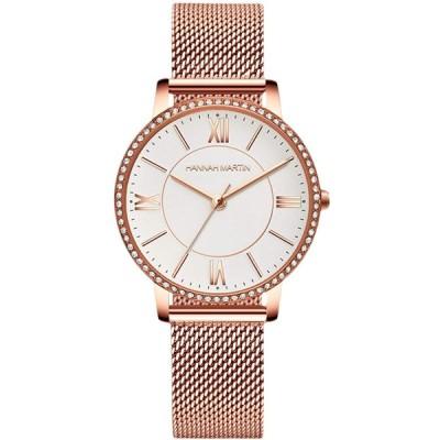 RORIOS watch 腕時計 レディース ファッション 生活防水 日本製 時計ダイヤ文字盤 キラキラ メッシュバンド 本革ベルト クオーツ 可愛い