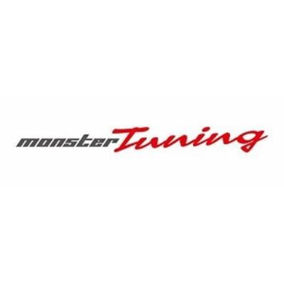 MONSTER SPORT MONSTER Tuning ステッカー ガンメタ×レッド 620×63 896156-0000M