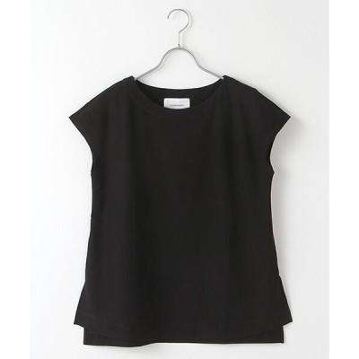 LOURMARIN / ルールマラン ドライコットンフレンチスリーブTシャツ