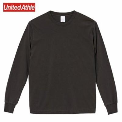 Tシャツ 長袖 長袖Tシャツ 長袖Tシャツ メンズ Tシャツ 無地 ピグメントダイロングスリーブTシャツ