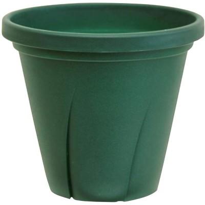大和プラスチック - 根はり鉢 6号 - ダークグリーン