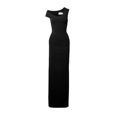 SOLACE LONDON ロングワンピース&ドレス ブラック 8 ポリエステル 95% / ポリウレタン 5% ロングワンピース&ドレス
