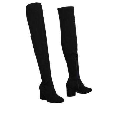 ケンダル + カイリー KENDALL + KYLIE ブーツ ブラック 5.5 紡績繊維 ブーツ