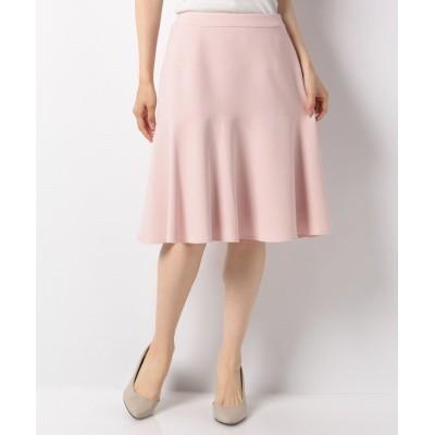 (MISS J/ミス ジェイ)【セットアップ対応】【洗える】シルキーストレッチ スカート/レディース ピンク
