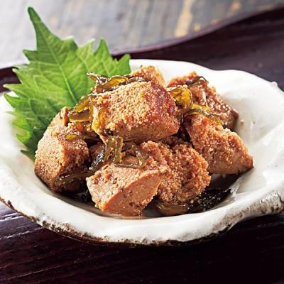 北海道日高産昆布使用 鱈子と昆布の旨煮 <7袋セット>