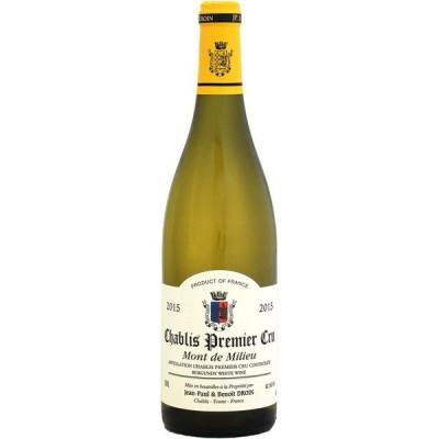 白ワイン wine ジャン・ポール・エ・ブノワ・ドロワン シャブリ 1er モン・ド・ミリュー 2015年 750ml