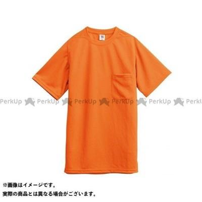 【無料雑誌付き】TSデザイン Tシャツ/ポケット付(オレンジ) サイズ:SS TS DESIGN