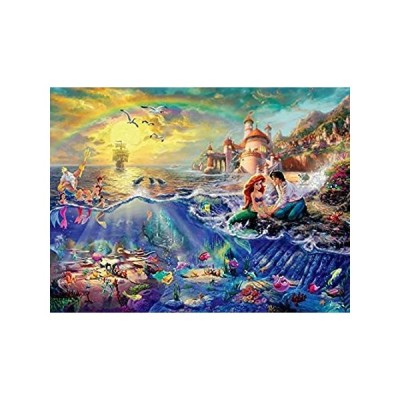 並行輸入品 Games - Ceaco - 750 Piece Thomas Kinkade Disney Dreams series 2 The Little