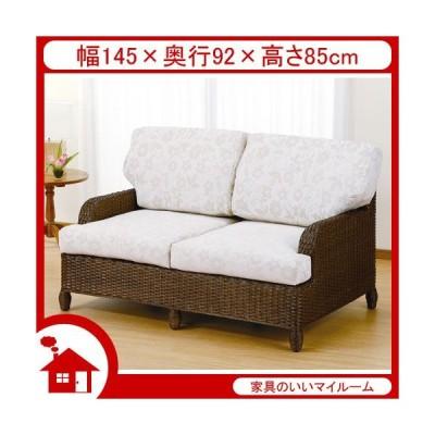 ラタン ソファ ソファー 2人掛け 籐椅子 籐の椅子 SH43 ラタン家具 IMY142B 今枝商店