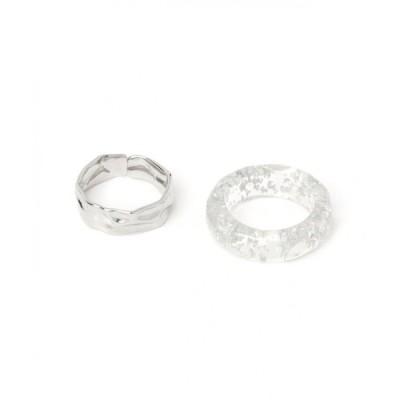 指輪 2セットクリアリング