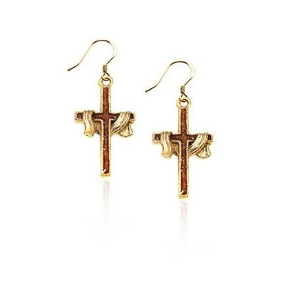 気まぐれなかわいい プレゼント クリスマス 4497G-ER Whimsical Gifts Religious Charm Earrings