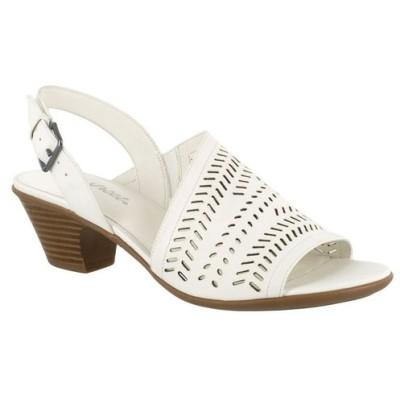 イージーストリート Easy Street レディース サンダル・ミュール シューズ・靴 Goldie Sandals White