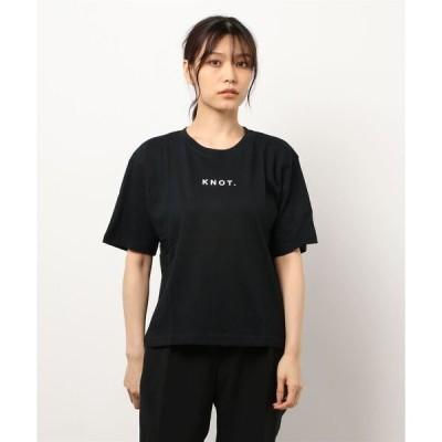 tシャツ Tシャツ KNOTロゴコットンTシャツ