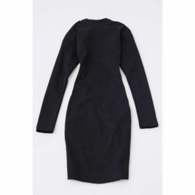モーテル Motel レディース ワンピース ワンピース・ドレス quelin backless dress Black