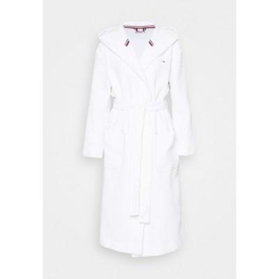 トミー ヒルフィガー レディース ワンピース トップス BATHROBE  - Dressing gown - white white