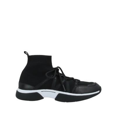 MAJE スニーカー&テニスシューズ(ハイカット) ブラック 39 紡績繊維 スニーカー&テニスシューズ(ハイカット)