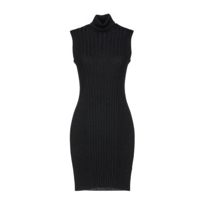 メゾン マルジェラ MAISON MARGIELA ミニワンピース&ドレス スチールグレー L ウール 100% ミニワンピース&ドレス