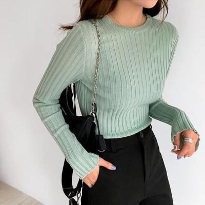 ENVYLOOK レディース ニット/セーター Jelly Ribbed Knitwear