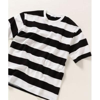tシャツ Tシャツ SHIPS any :リラックス フィット ワイドボーダー Tシャツ