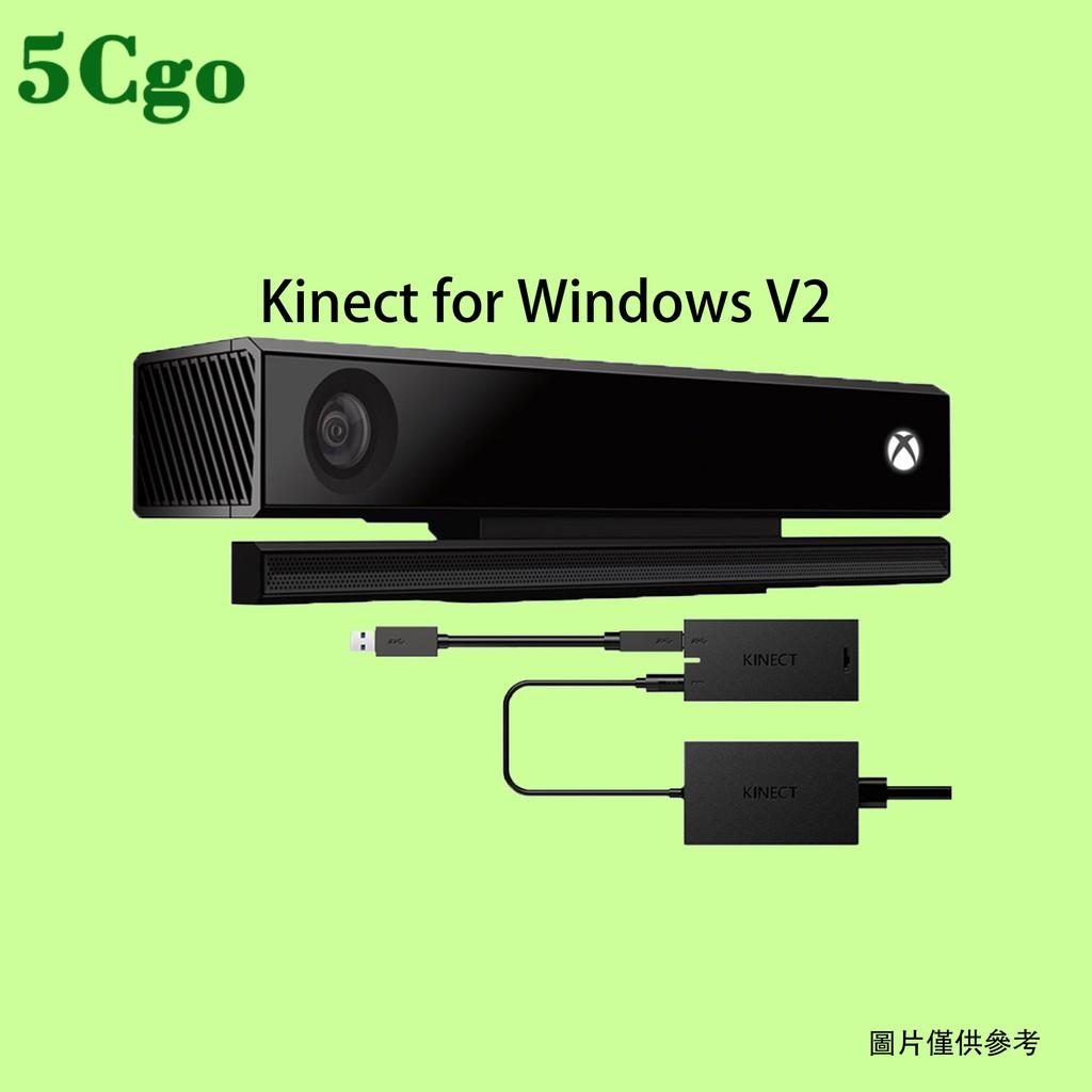 5Cgo【含稅】Kinect for Windows V2攝像頭傳感器xbox one s/x版體感器歐版彩盒適配器