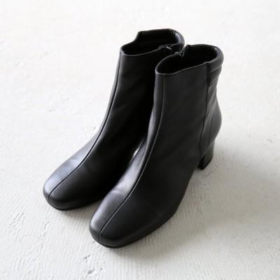 REMME レメ / スクエア ショート ブーツ B-06SE