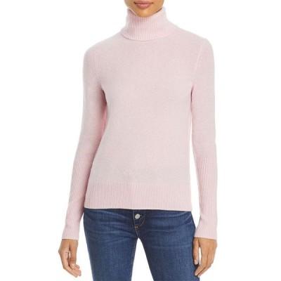 アクア レディース ニット・セーター アウター Cashmere Turtleneck Sweater - 100% Exclusive