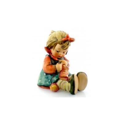 フンメル人形 Hummel Knit One Purl One 155720 女の子 フィギュリン