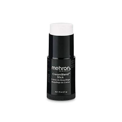 Mehron Makeup CreamBlend Stick (.75oz) (White)【海外平行輸入品】