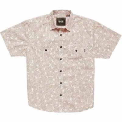 ホウラーブラザーズ Howler Brothers メンズ 半袖シャツ トップス Aransas Shirt Prickly Pear Print Claypot