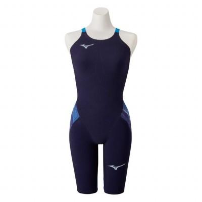 ミズノ レディース 競泳水着 GX SONIC V MR ハーフスーツ N2MG020220 : ブルー 水泳 水着 FINA承認  全種目 大会用 高速水着 2020年モデル 布帛素材 MIZUNO