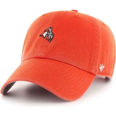 フォーティセブン 47 メンズ キャップ 帽子 Oklahoma State Cowboys Orange Base Runner Clean Up Adjustable Hat