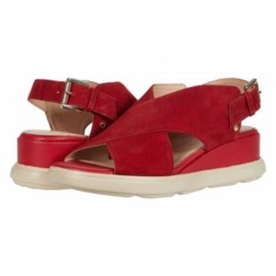 Geox ジオックス レディース 女性用 シューズ 靴 ヒール Pisa 1 Red【送料無料】