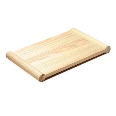 まな板 両面 フチあり 浮かせて 木 檜 ひのき 清潔・浮かせ両面まな板 大