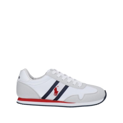 ラルフローレン RALPH LAUREN スニーカー&テニスシューズ(ローカット) ホワイト 4Y 紡績繊維 スニーカー&テニスシューズ(ローカット)